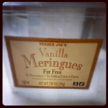 Trader Joe's Vanilla Meringues.