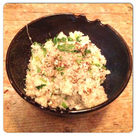 Quinoa with Lemon